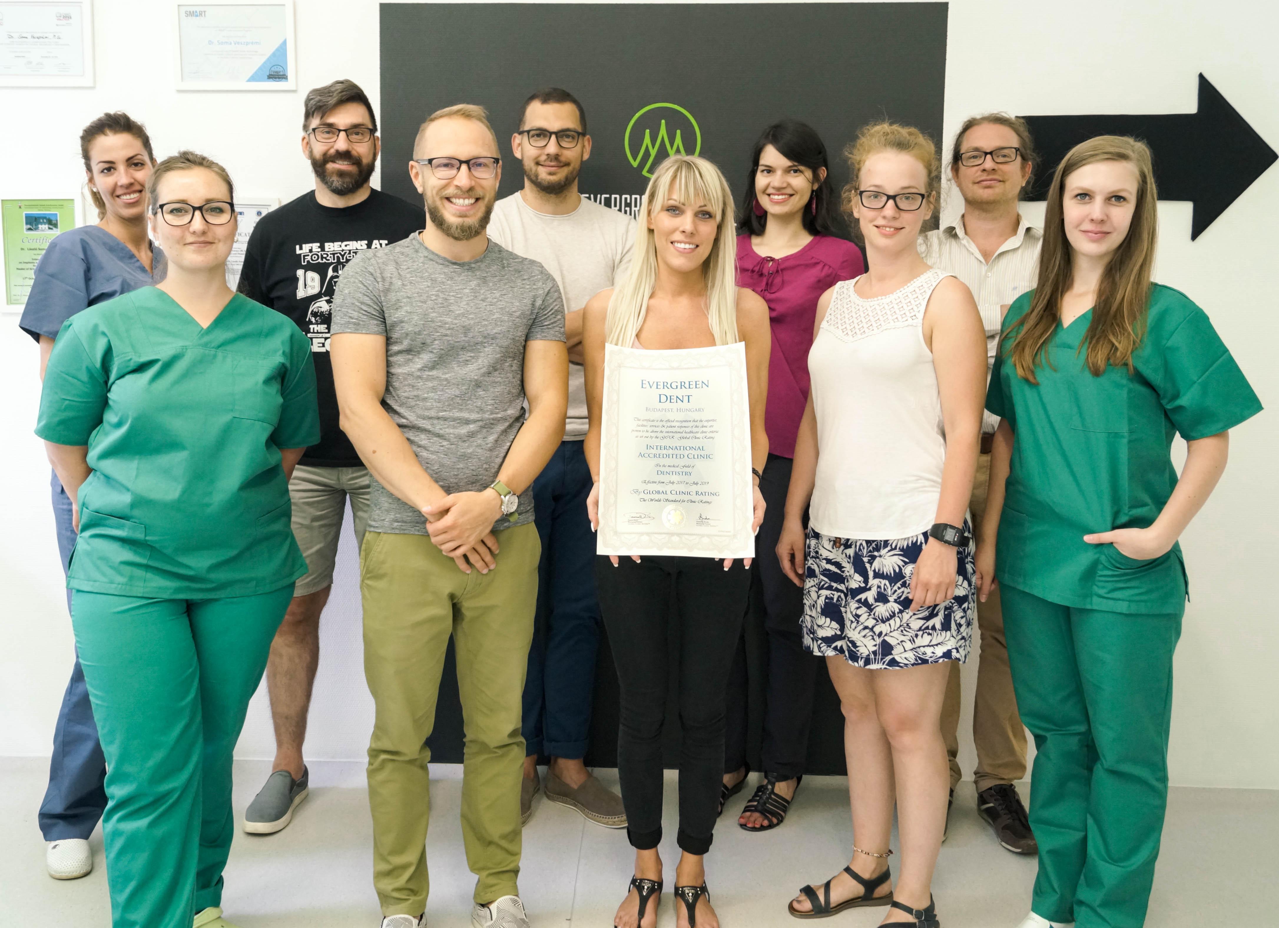 HUNGARY: Evergreen Dental – GCR™ Internationally Accredited