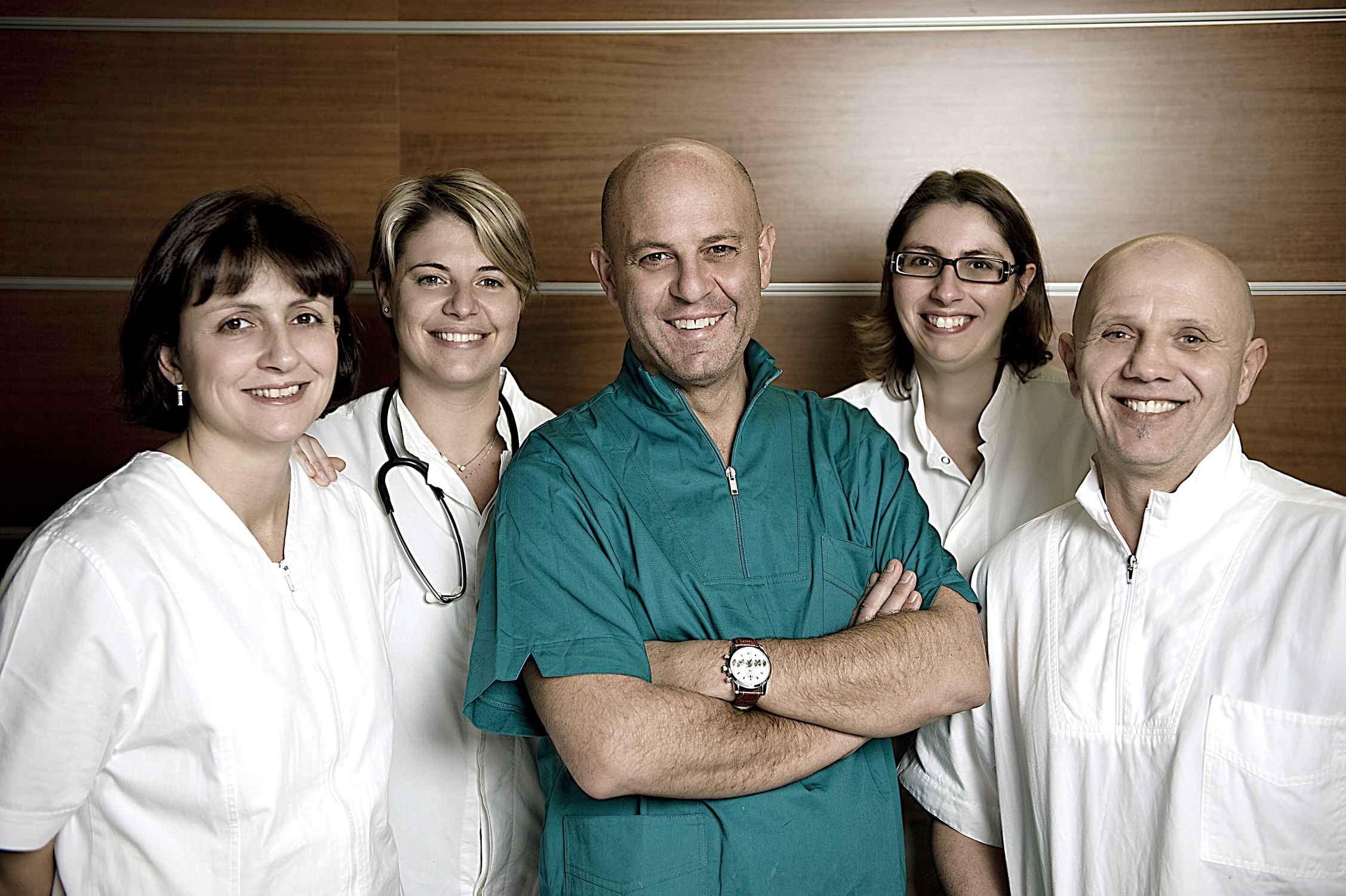 Dr. Fabio Maltese & clinic team