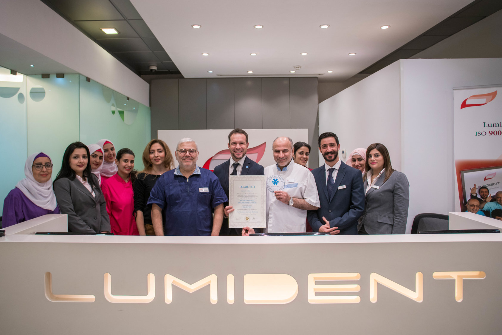 Clinic team at Lumident