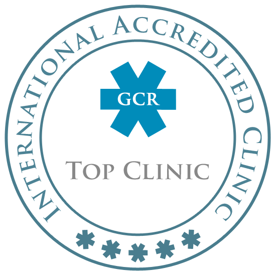 GCR Accreditation badge